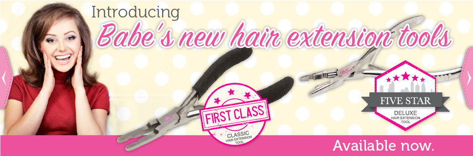 New Hair Extension Tools