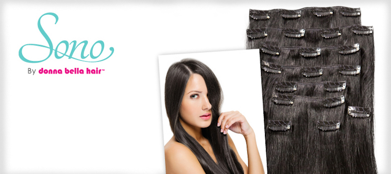 18 inch premium clip in hair extensions donna bella hair clip in 18 full head extensions pmusecretfo Image collections
