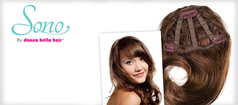 Side swept clip in bangs donna bella hair clip in extensions pmusecretfo Image collections